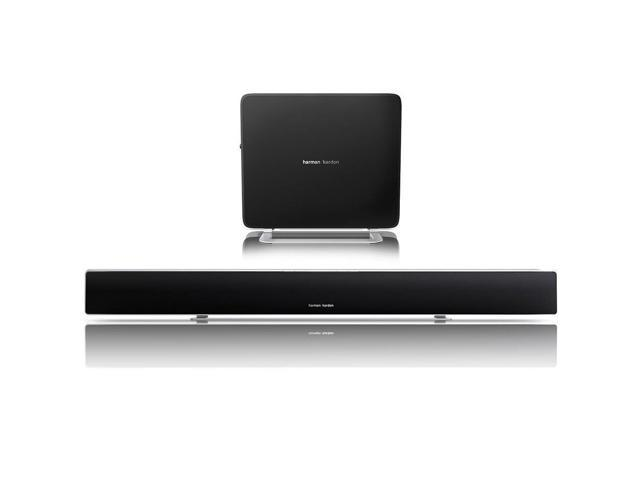 Harman Kardon Sabre SB35 Slim Surround Soundbar with 100W Wireless Subwoofer (Black)