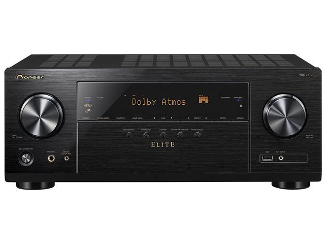 Pioneer VSX-LX101 7.2 Channel Networked AV Receiver with Built-in Bluetooth and Wi-Fi