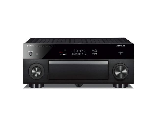 Yamaha AVENTAGE RX-A1080 7.2-ch 4K Ultra HD AV Receiver with HDR, Dolby Vision, Dolby Atmos, Wi-Fi, Phono, YPAO and MusicCast. Works with Alexa.