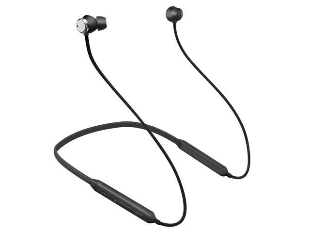 Bluedio TN (Turbine) Active Noise Cancelling headphones, Bluetooth 4.2 Wireless Sports Headsets Running Earbuds with Mic(Black)