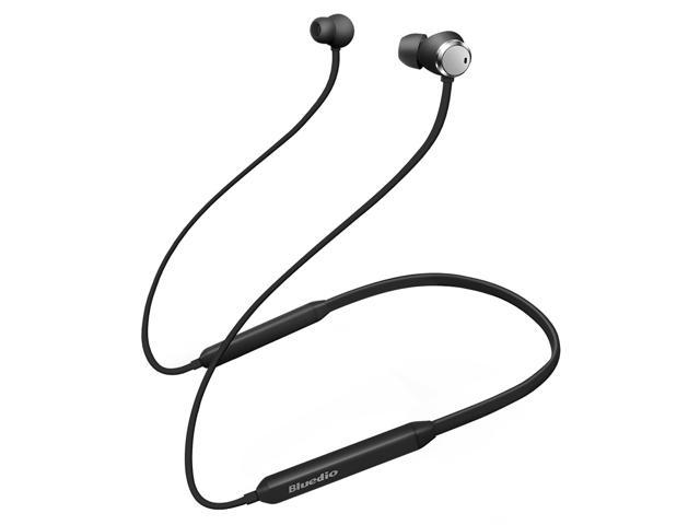 Bluedio TN (Turbine) Active Noise Cancelling Headphones, Bluetooth 4.2 Wireless Sports Headset with Mic (Black)
