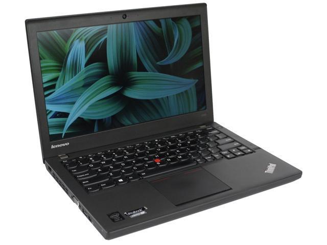 "Refurbished: Lenovo X240 i5 4300U 1.90GHz Win 10 Pro 8GB Mem 500GB HDD 12.5"" HD Webcam Bluetooth Finger Print Reader ThinkPad Ultrabook"