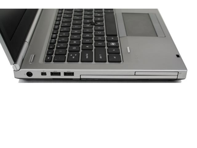"Refurbished: HP Elitebook 8470P i5 3320M 2.6GHz 4G RAM 500G HDD 14"" HD Win 7 Pro 64 DVDRW Webcam 1394 Firewire 54mm Expresscard 6 Cell Batt Intel HD Graphics 4000 Laptop"