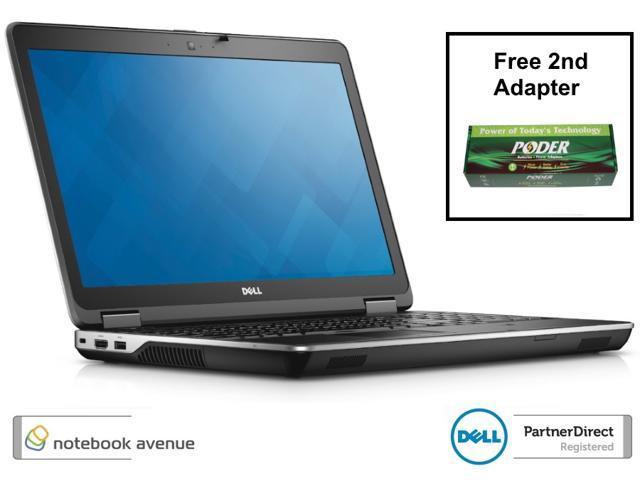 "Refurbished: Latitude E6540 Quad Core i7 4800MQ 8G 320G 15.6"" HD Radeon 2G DVDRW 9 Cell W7 Pro - FREE 2nd Adapter"