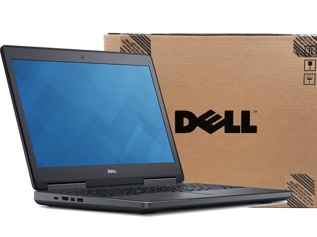 """Refurbished: Precision M7510 3Y WRTY Quad Core i7-6820HQ 8G 500G HDD 15.6"""" (1920x1080) W10 Pro AMD FirePro W5710M 2G CAM - Dell 15 7000 7510 Workstation (Manufacturer Refurb) - OEM"""