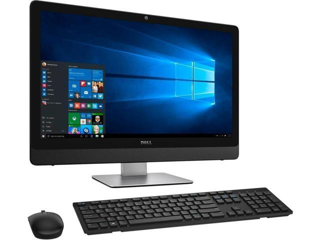 Refurbished: Dell Inspiron 24 5000 (5488) Series Touchscreen All-In-One Intel Core Desktop Computer PC i5-7th Gen, 12 GB RAM, 1 TB HDD