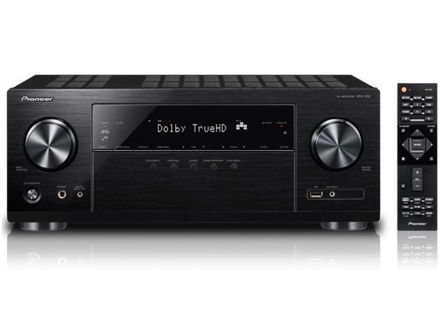 Pioneer VSX832 5.1 Ch Network AV Receiver with Ultra HD Pass-through with HDCP 2.2 (4K/60P/4:4:4)