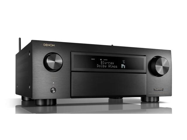 Denon AVR-X6500H 11.2-Channel 4K AV Receiver with 3D Audio and Amazon Alexa Voice Control
