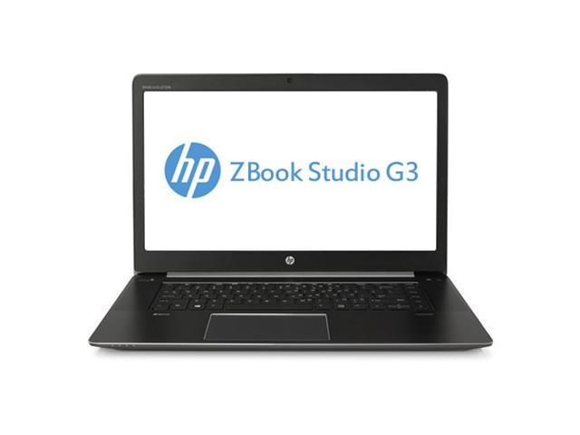 "HP X1X79UT ZBook Studio G3 Mobile Workstation~15.6"" 1920 x 1080 UWVA IPS Anti-Glare Display~Intel Core i5-6300HQ~8GB RAM~256GB SSD~NVIDIA Quadro M1000M Graphics Card (4GB)~Windows 7 Pro"