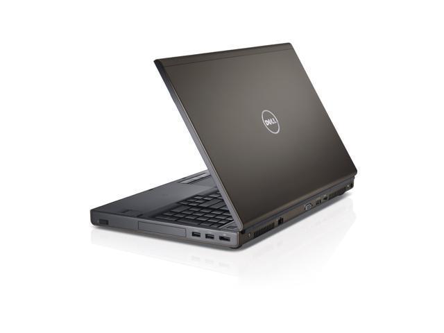 Refurbished: Dell Precision M4800 Intel Core i7-4810MQ 2.8GHz 32GB 512GB SSD Gray Windows 7 Professional - OEM