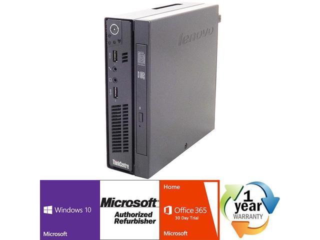 Refurbished: Lenovo ThinkCentre M92p Tiny Intel Dual Core i5 3470T
