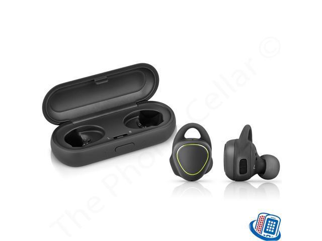 d10a10a313b Refurbished: Samsung Gear IconX SM-R150 Wireless Fitness Earbuds Black  White Blue Bluetooth ...