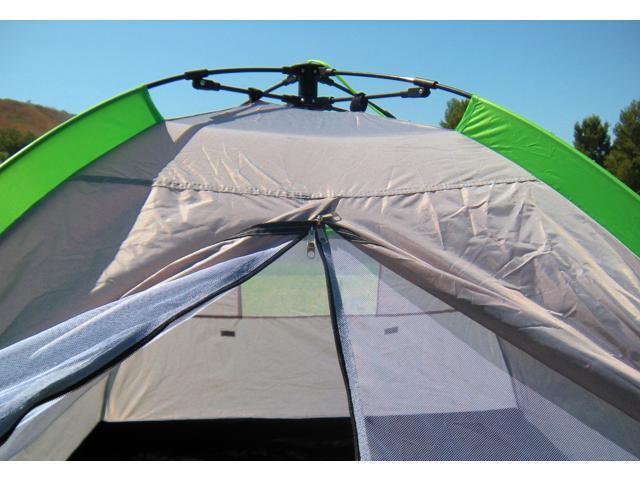 Yukon Trail Lightweight Waterproof C&ing Beach Tent Sun Shelter Canopy Automatic Setup Carry Bag Included ... & Yukon Trail Lightweight Waterproof Camping Beach Tent Sun Shelter ...