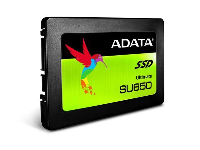 "ADATA Ultimate SU650 2.5"" 960GB SATA III 3D NAND Internal Solid State Drive (SSD) ASU650SS-960GT-C"