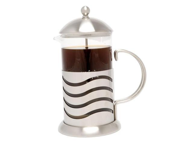LaCafetiere Wave 8-Cup Coffee Press, Chrome