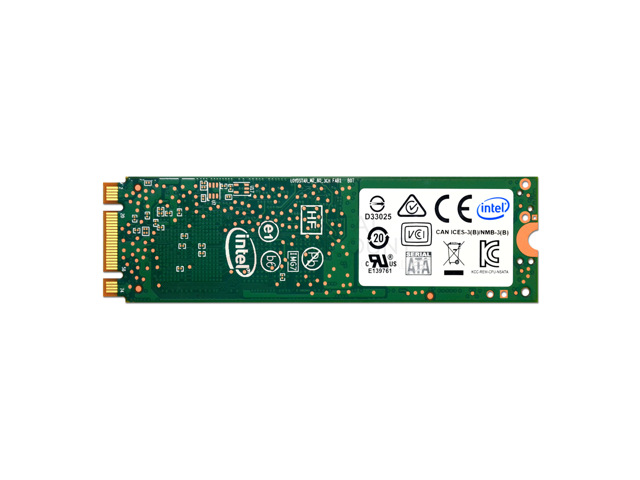 Intel 360GB Pro 5400s Series 16nm TLC AES 256-bit Single Sided 80mm (2280) SATA III (6Gb/s) M.2 SSD - SSDSCKKF360H6X1