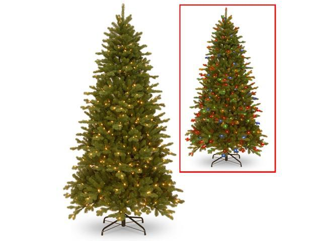 7.5 ft. Sheridan Spruce Memory-Shape® Tree with PowerConnect™ and Dual Color® LED Lights