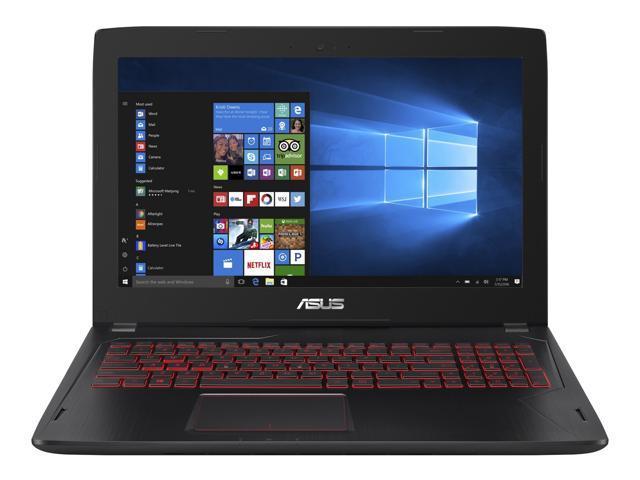"ASUS FX502VM-AS73 Gaming Laptop Intel Core i7 7th Gen 7700HQ (2.80 GHz) 16 GB DDR4 Memory 1 TB HDD 128 GB SSD NVIDIA GeForce GTX 1060 3 GB GDDR5 VR Ready 15.6"" Windows 10 Home 64-Bit"