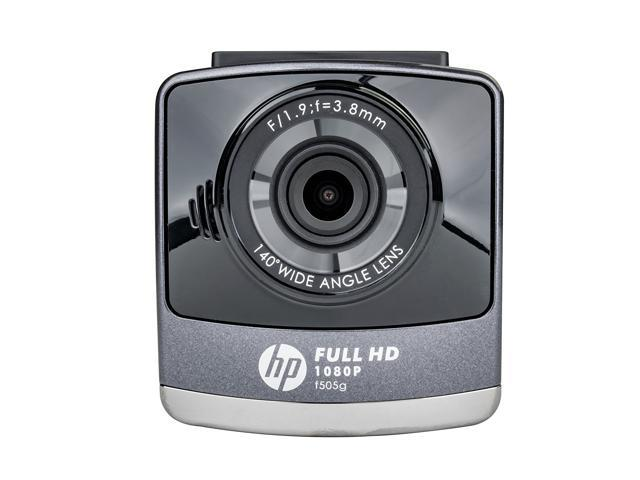 HP F505G Black/Grey 1080P Dash Cam