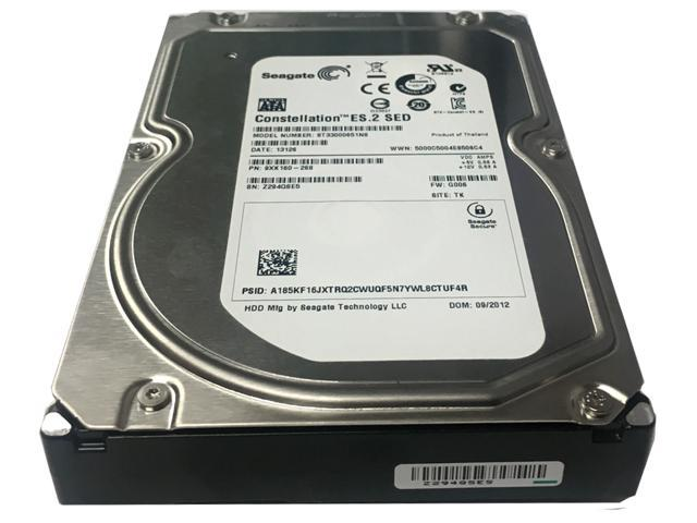"Refurbished: Seagate Constellation ES.2 ST33000651NS 3TB 7200 RPM 64MB Cache SATA 6.0Gb/s 3.5"" Enterprise Hard Drive - OEM"