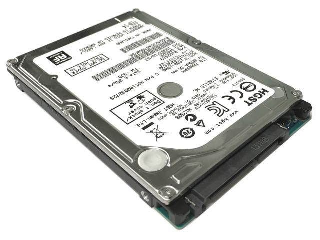 "Refurbished: HGST Travelstar 7K1000 HTS721010A9E630 (0J22423) 1TB 7200RPM 32MB Cache SATA III (6.0Gb/s) 2.5"" Internal Notebook Hard Drive - OEM"
