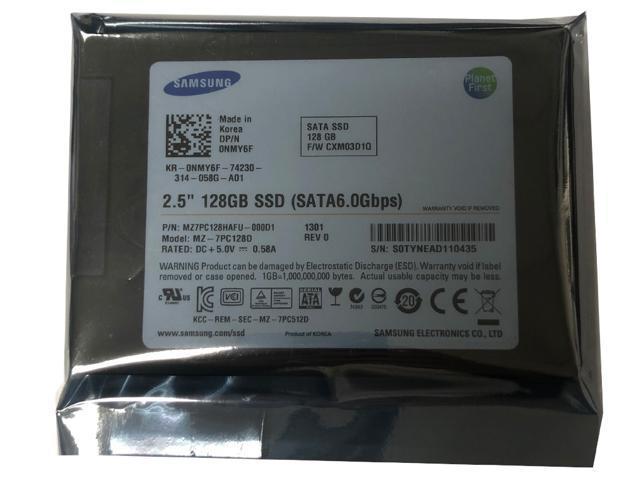 "Refurbished: SAMSUNG 830 Series MZ-7PC128D 128GB MLC SATA III (6.0Gbps) 2.5"" Internal Solid State Drives (SSD) -MZ7PC128HAFU - OEM"