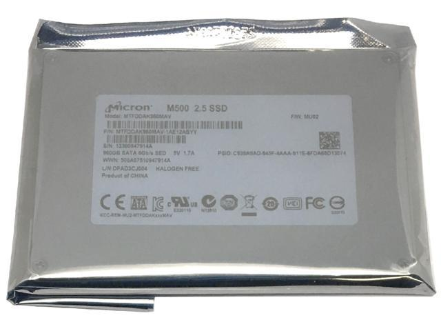 Micron M500 960GB 2.5-inch SATA III MLC (6.0Gb/s) Internal Solid State Drive (SSD) (MTFDDAK960MAV) - OEM