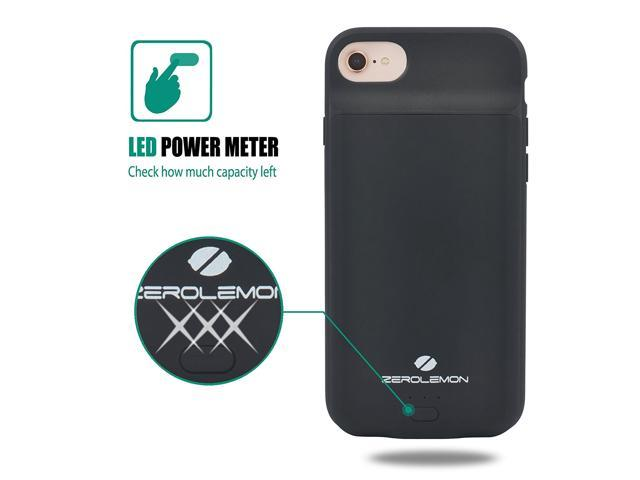 san francisco 73bb8 741ba Battery Case for iPhone 8/7/6S/6, ZeroLemon 4500mAh Portable Power ...