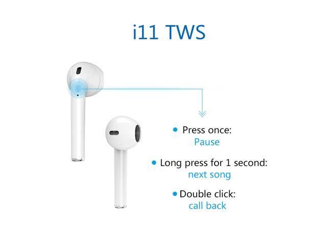 Alpha Digital Wireless Ear-buds, Bluetooth 5.0, Easier Pairing, longer distance, best sound quality, sweat-proof design, 20 hours play time, storage case for charging