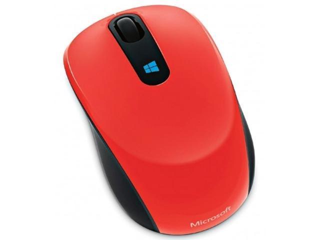 Microsoft Sculpt Mobile Mouse - Flame Red (43U-00023)