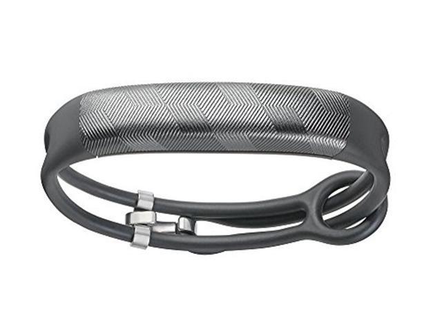 Jawbone UP2 Lightweight Thin Straps Fitness Tracker for Universal Smartphones - Gunmetal - JL03-6363CFI-US