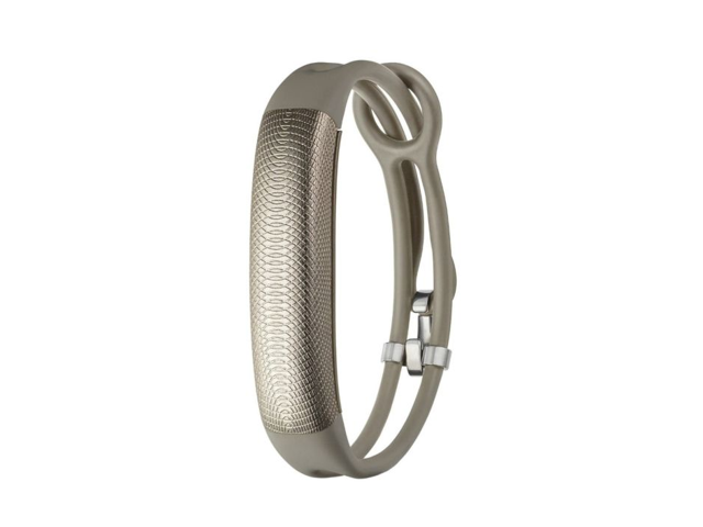 Jawbone UP2 Lightweight Thin Straps Fitness Tracker for Universal Smartphones - Oat -  JL03-6064CHK-US