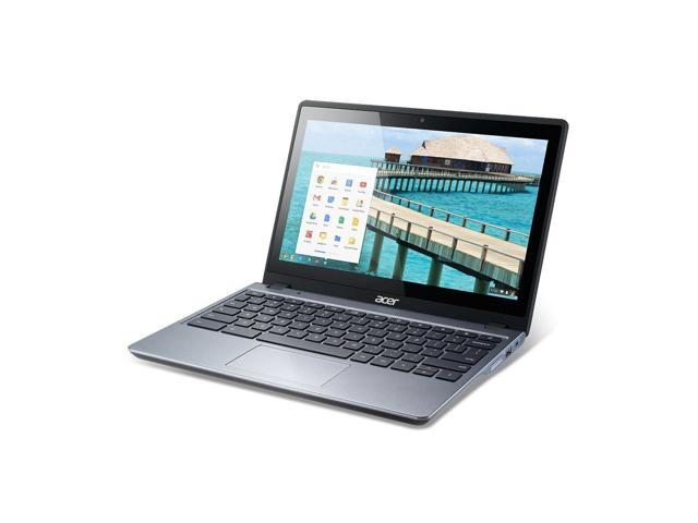 Refurbished: Acer C720P-2625 11.6 Chromebook Intel 2955 1.40GHz 4GB RAM 16GB SSD + HEX Carry Case