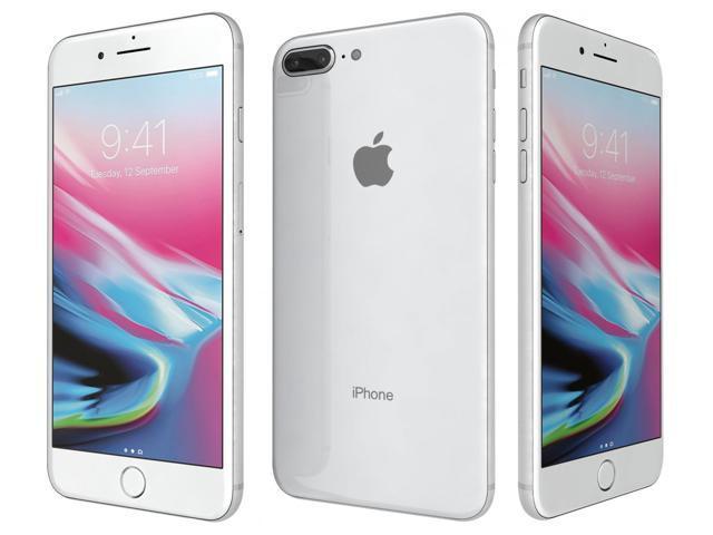 Refurbished: Apple iPhone 8 Plus Unlocked 64GB Silver