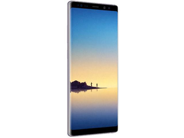 Refurbished: Samsung Galaxy Note 8 64GB Unlocked Smartphone - Orchid Gray SM-N950UZVAXAA
