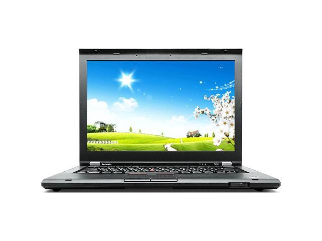 "Refurbished: Lenovo Thinkpad T430s Intel i5 Dual Core 2600 MHz 320Gig Serial ATA 4GB NO OPTICAL DRIVE 14.0"" WideScreen LCD Windows 10 Professional 64 Bit Laptop Notebook"