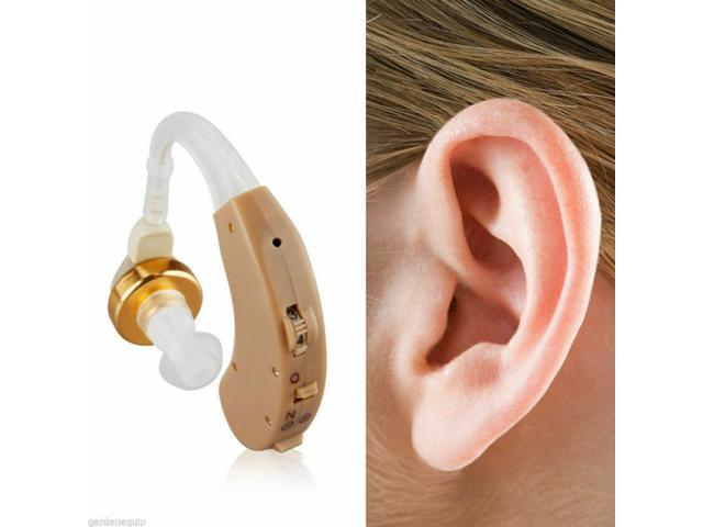 1Pair Wireless Hearing Aid Portable Mini Durable Noise Reduction Digital Hearing Aid Ear Aids for The Elderly Sound Amplifiers