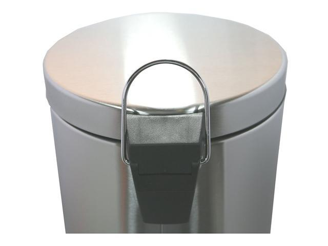 Neat-O Stainless Steel Small Trash Can (5 Liter/1.3 Gallon)