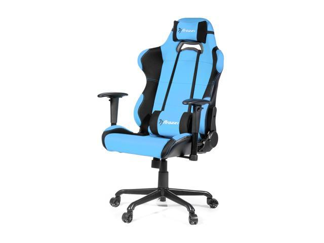 Arozzi Torretta XL Advanced Racing Style Gaming Chair, Azure