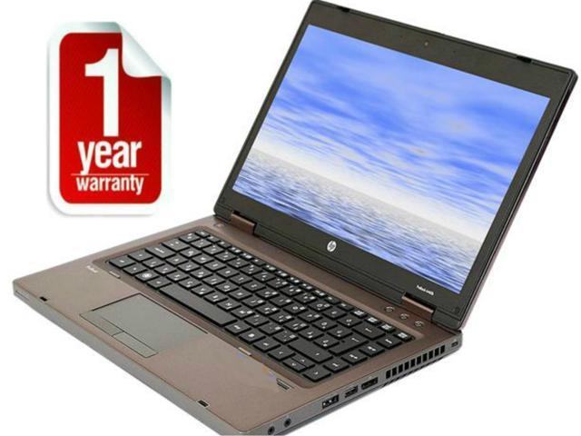 "Refurbished: HP ProBook 6475B AMD A4-4300M (2.50 GHz) (3rd Gen i5 Equivalent) 4 GB Memory 320 GB HDD 14.0"" Windows 7 Home Premium 64-Bit 1 Year Warranty  like 6460b 6470b"
