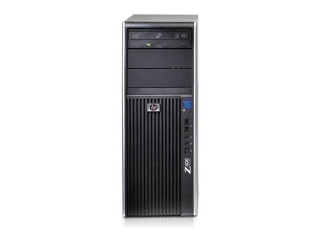 Refurbished: HP Z400 Workstation - Xeon Quad-Core W3565 3.2GHz - 8GB Ram - 500 GB Hard Drive - DVD/RW Drive - NVS 290 Video Card - Windows 10 Pro