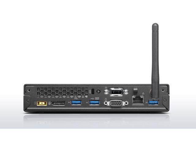 Refurbished: Lenovo ThinkCentre M93p Tiny Desktop - Intel Core i5-4570T 2.9 GHz (4th Gen) - 8GB - 256GB SSD – WIFI - Windows 10 Pro