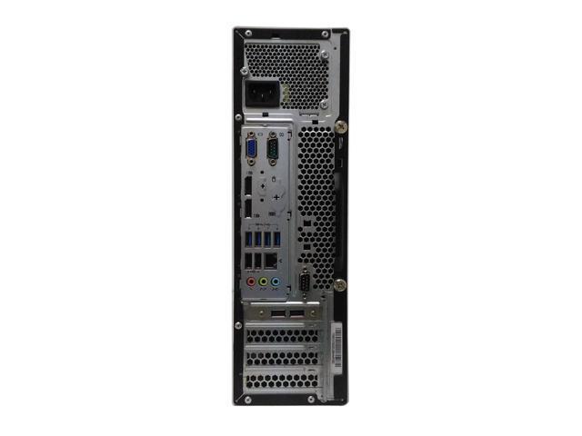 Refurbished: Lenovo ThinkCentre M93p SFF - Intel Core i5-4570 (Quad Core 4th Gen.) 3.20GHz - 8GB RAM - 240GB SSD - DVD/RW - Windows 10 Home