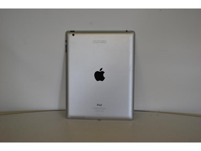 "Refurbished: Apple iPad 4 with 9.7"" Retina Display (2048x1536 264 ppi) - 16GB - Wi-Fi - Bluetooth - iOS 10 - Black - A1458 MD510LL/A 4th Generation - Genuine Apple Charger Included - Grade B"