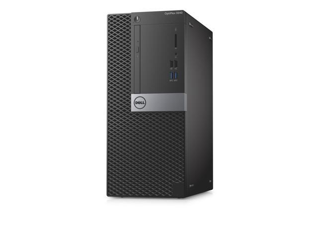 "Refurbished: Dell OptiPlex 3040 Mini-Tower and 22"" Dell P2214H IPS LED Monitor - 6th Gen Intel Core i5-6500 3.20GHz Quad Core Processor, 8GB Ram, 120GB SSD + 500GB HDD, WiFi, DVDRW, Windows 10 Pro, Keyboard-Mouse - OEM"