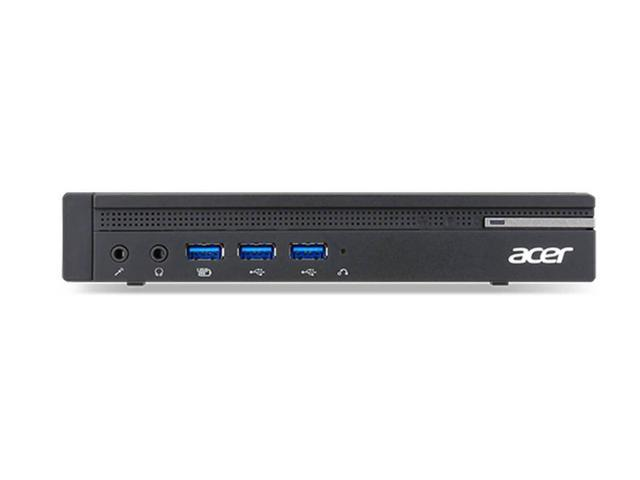 Acer Veriton N NVMe SSD Mini-PC, 7th Gen Quad-Core i5 7500T 2.7GHz, 8GB RAM, 256GB NVMe SSD + 500GB HDD, (2x DP 1x VGA) AC WIFI, BT 4.0, USB 3.0, Windows 10 Pro 64-bit