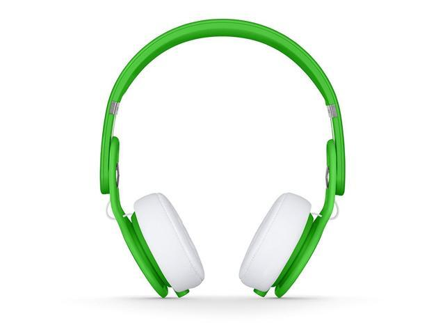 Refurbished: Beats by Dr. Dre Mixr On-Ear Headphones - Neon Green - Grade A Condition (90 Day Warranty)