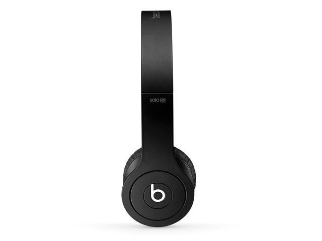 Refurbished: Beats By Dr. Dre Solo HD On-Ear Headphones - Matte Black - Grade A Condition - 90 Day Warranty