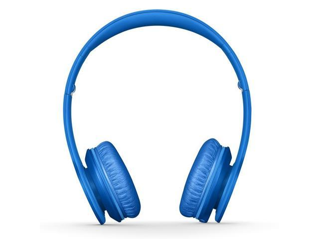 Refurbished: Beats By Dr. Dre Solo HD On-Ear Headphones - Matte Blue - Grade A Condition - 90 Day Warranty