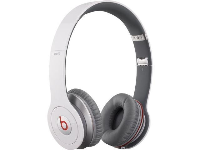 Refurbished: Beats By Dr. Dre Solo HD On-Ear Headphones - White - Grade A Condition - 90 Day Warranty